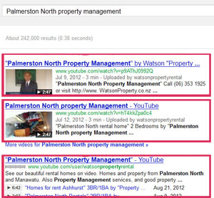 palmerston property management search results