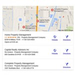 Google Map Search Results Update: From 7 Displayed Pins Down to 3