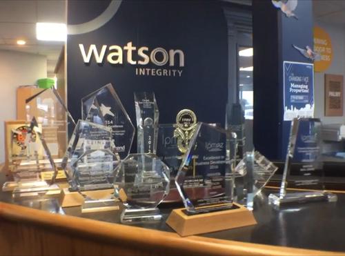 Greg Watson awards