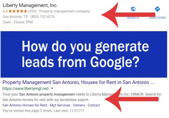 how-do-you-generate-leads-from-google